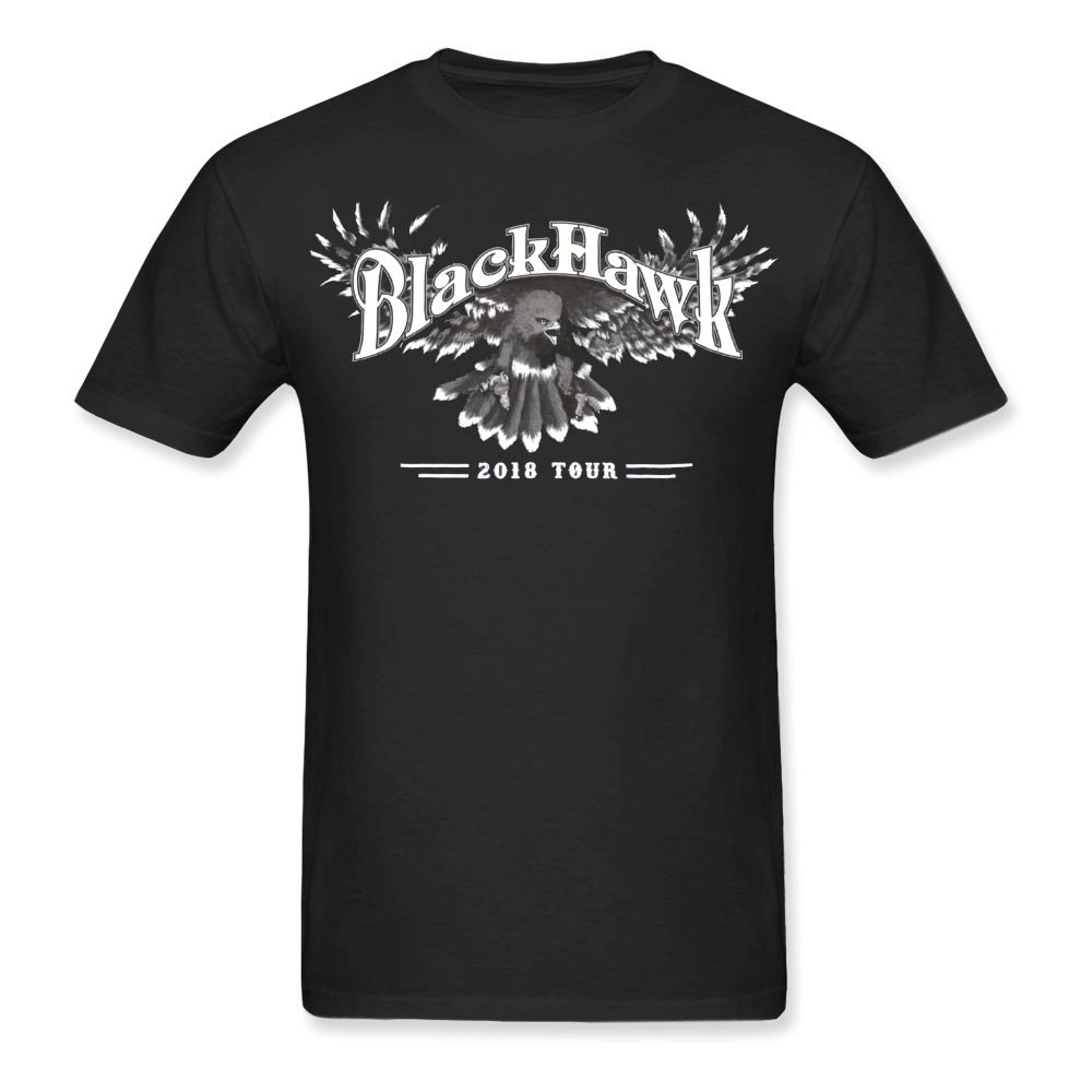 BlackHawk Rocks Black Tee Shirt