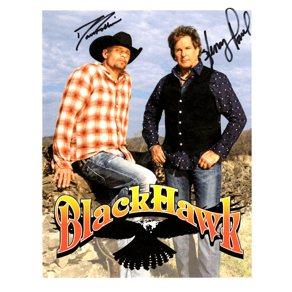 Blackhawk Autographed Photo