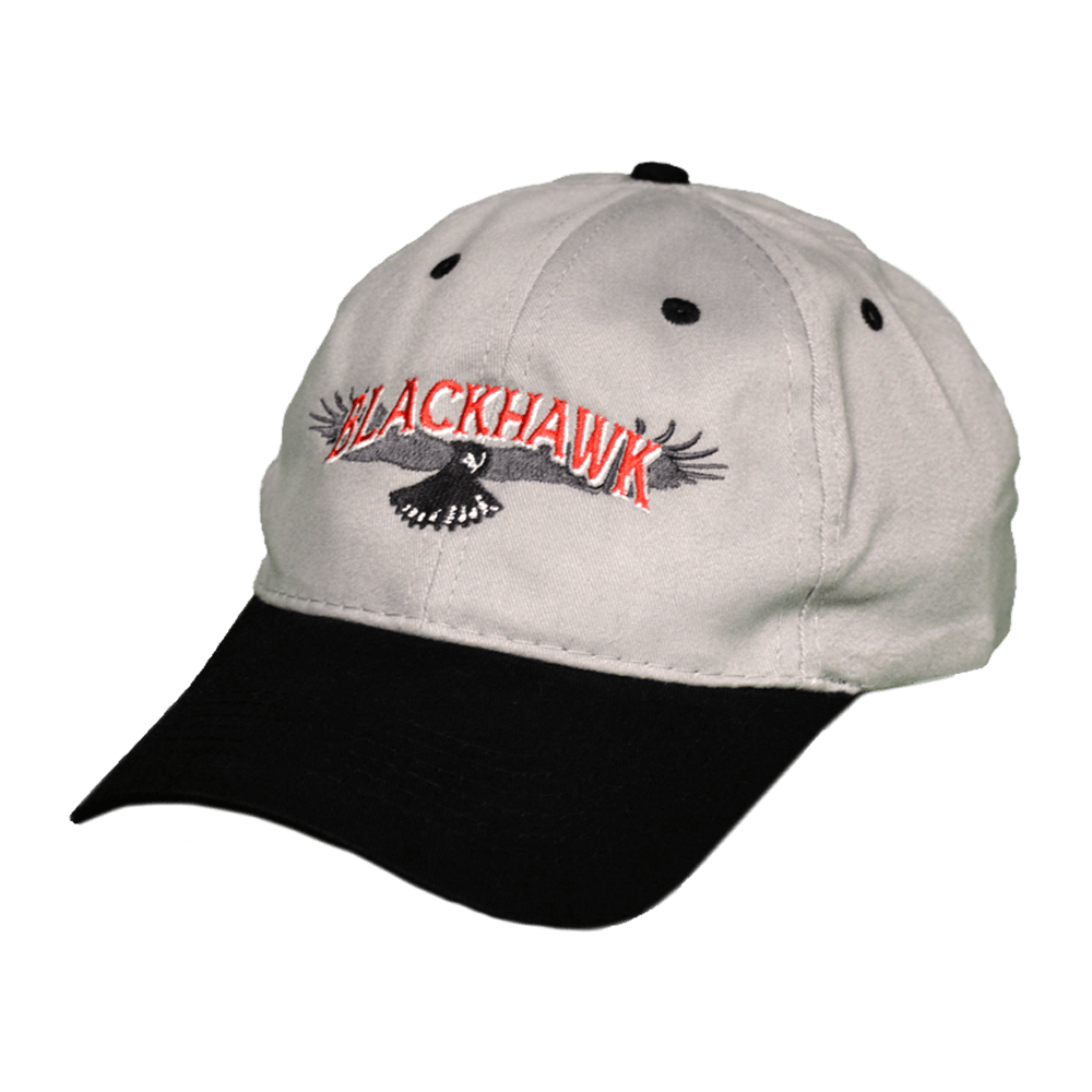 Blackhawk Grey and Black Hat