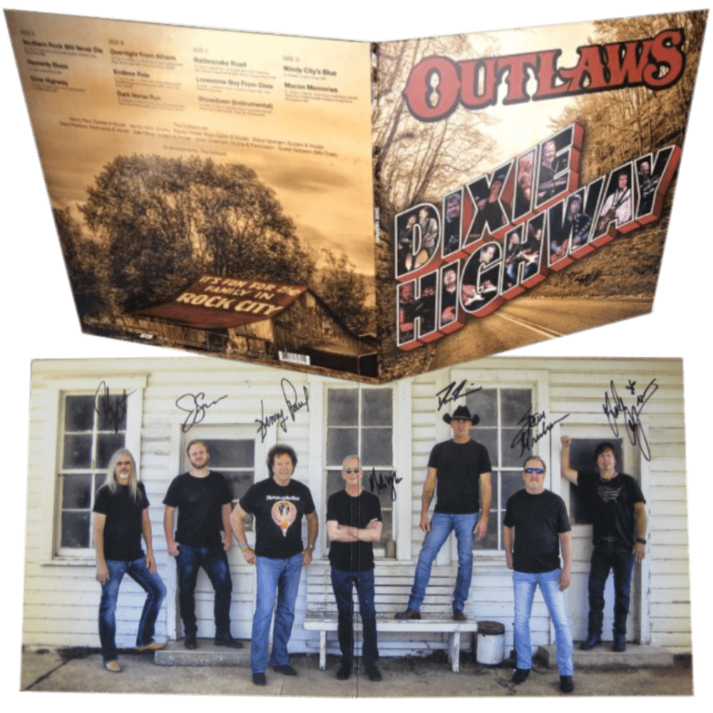 "Outlaws ""Dixie Highway"" Autographed Vinyl"