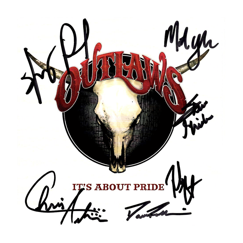 "Outlaws ""It's About Pride"" Autographed CD"