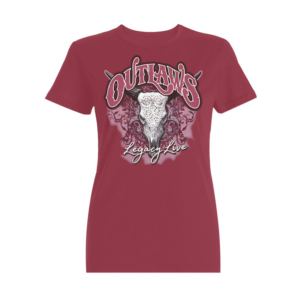 Outlaws Legacy Live Ladies Shirt