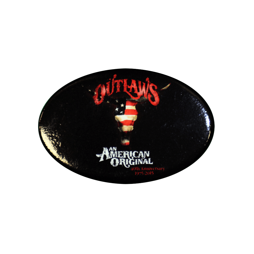 Outlaws Oval 40th Anniversary Magnet