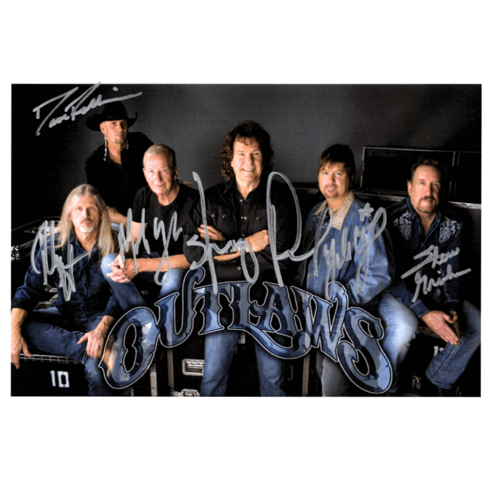 Outlaws Signed 8x10
