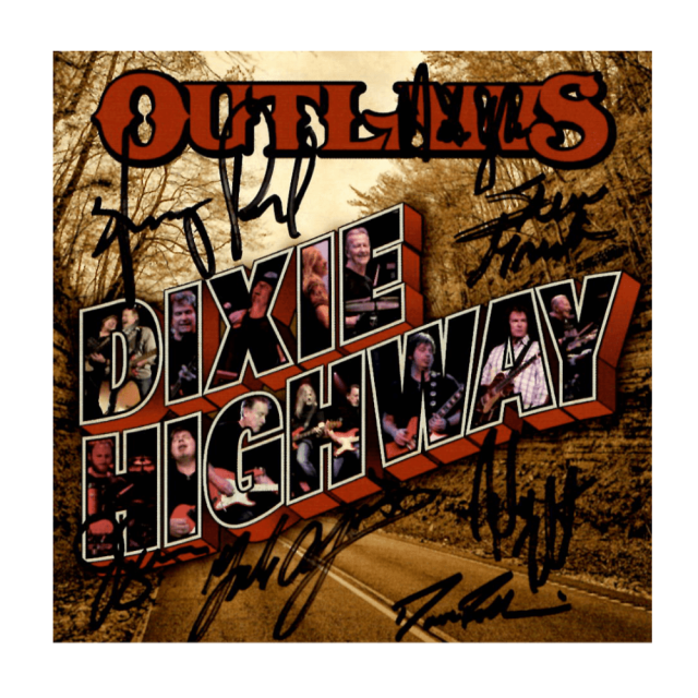 """Outlaws """"Dixie Highway"""" Autographed CD"""