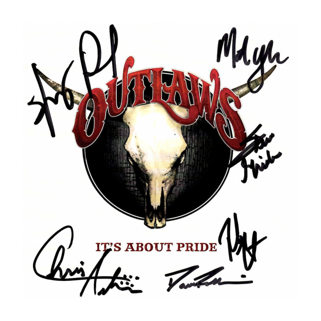 """Outlaws """"It's About Pride"""" Autographed CD"""