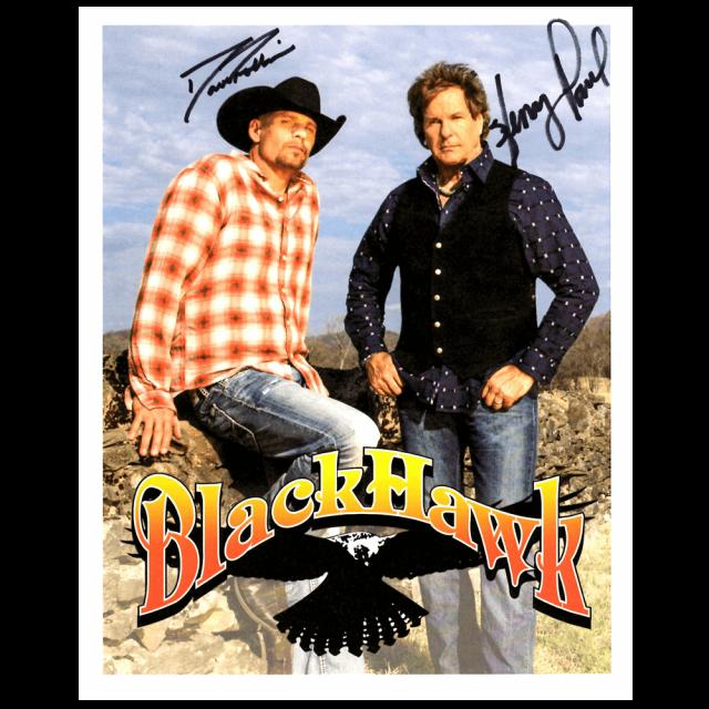 Blackhawk Autographed Photo