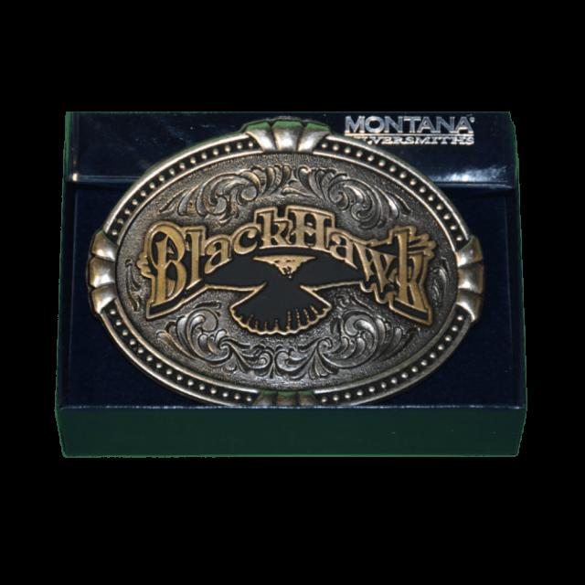 BlackHawk Montana Silversmith Belt Buckle