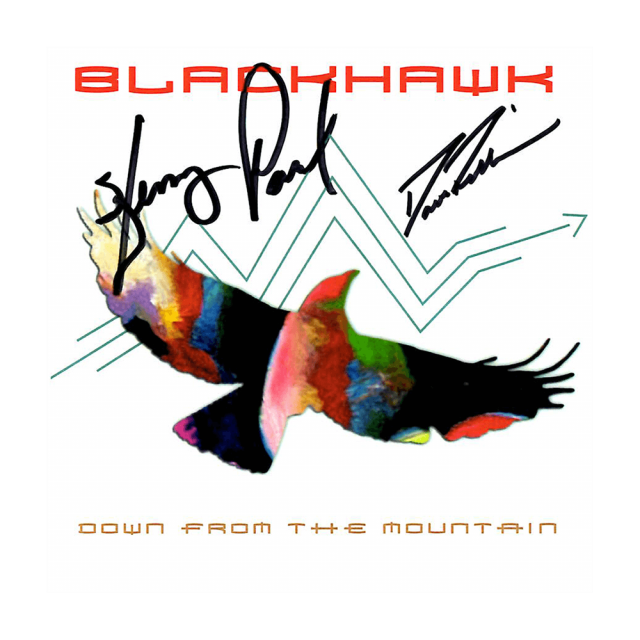 "Blackhawk ""Down From The Mountain"" Autographed CD"