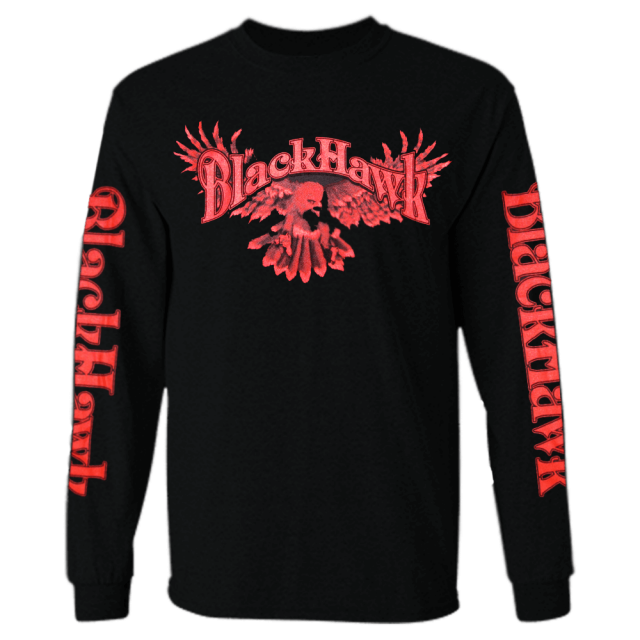"BlackHawk ""Goodbye Says It All"" Black Long Sleeve"