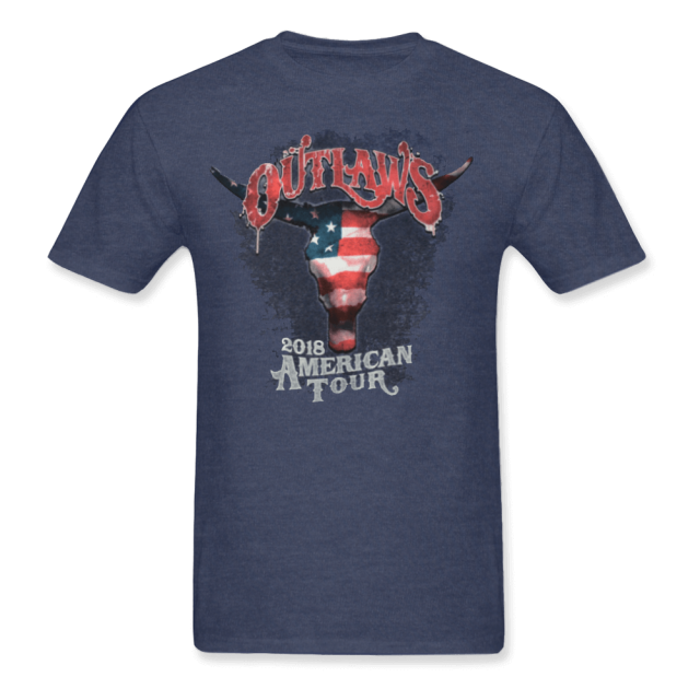 Outlaws 2018 American Tour Shirt