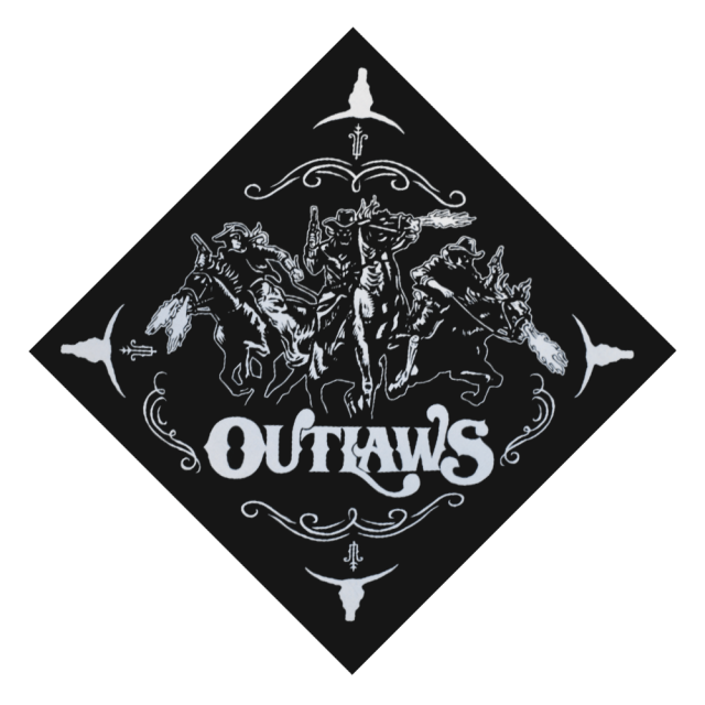Outlaws Bandanna
