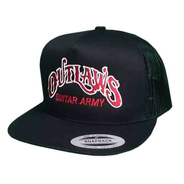Outlaws Guitar Army Hat