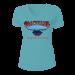 Blackhawk Ladies Light Blue V Neck Shirt