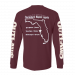 Outlaws Maroon Yuletide Jam 2019 Long Sleeve